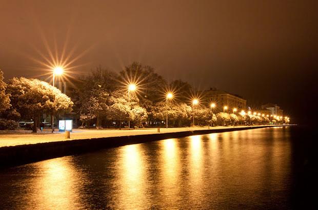 Chorvatsko počasí v zimě
