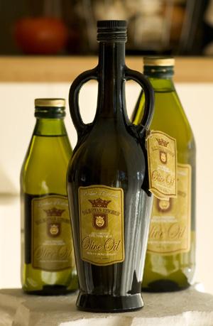 Chorvatské jídlo a pití (olivové oleje)