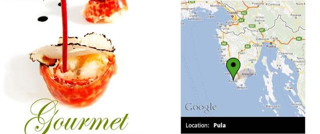 """Restaurace Istrie v mobilní aplikaci """"Gourmet Istra"""""""