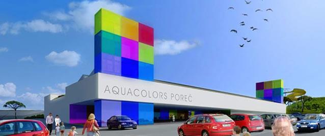 V Poreči vyroste nový aquapark – Aquacolors Poreč
