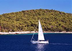Ostrov Hvar - moře a pláže (Stari Grad)