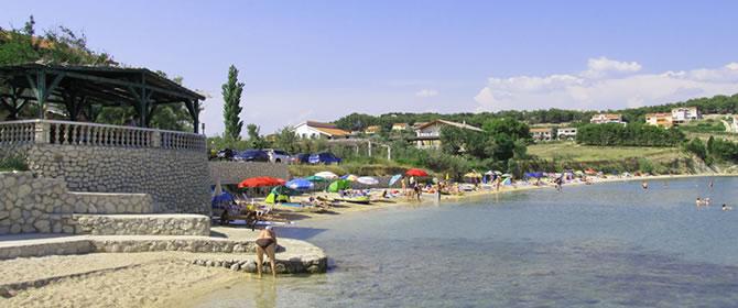 Letovisko Vlašiči - ostrov Pag (Chorvatsko)