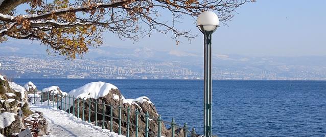 Svatý Valentýn u moře v Chorvatsku