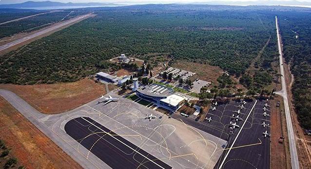 Letiště v chorvatské Zadaru