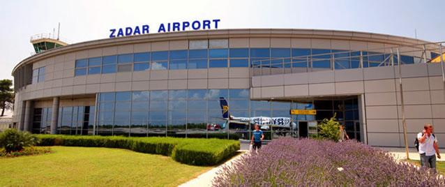 Letiště v Zadaru - Chorvatsko