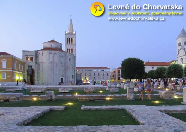 Zadar - Chorvatsko (památky, historické centrum)