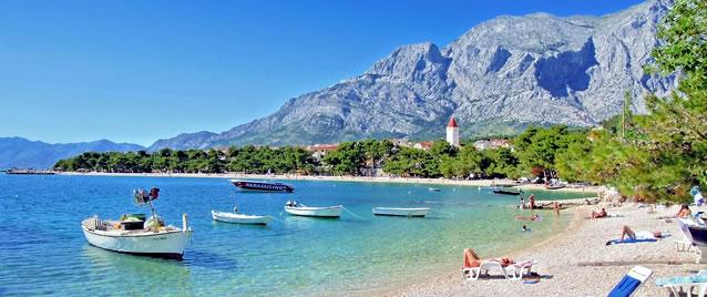 Turisté v Chorvatsko 2013