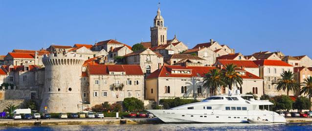 Nárůst turistů v Chorvatsku v roce 2014