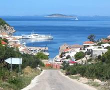 Trajekt na ostrov Žirje