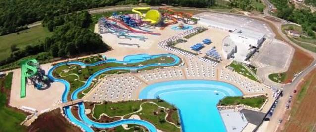 Istrie nabízí dva aquaparky pro letní osvěžení
