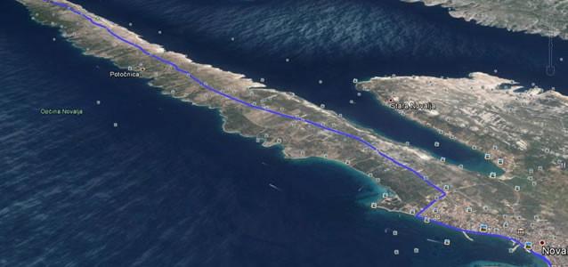Chorvatsko - ostrov Pag půlmaraton