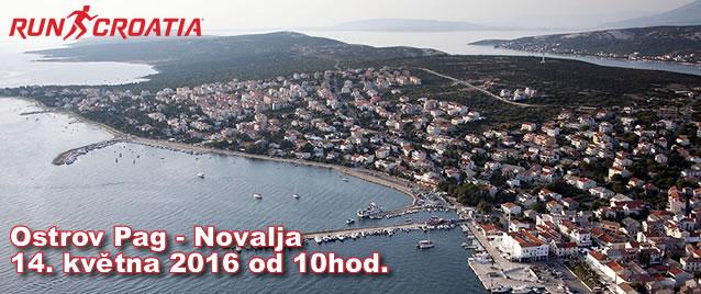 Chorvatský ostrov Pag bude hostit poprvé mezinárodní půlmaraton
