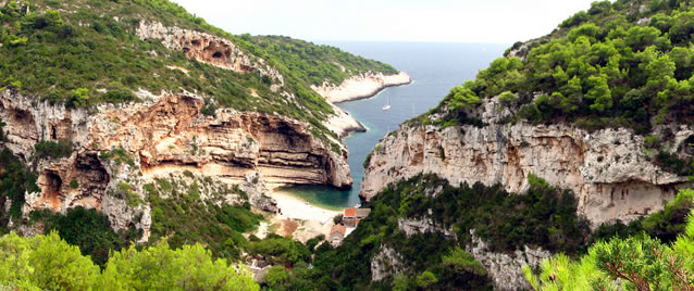 Nejlepší evropská pláž se nachází na ostrově Vis