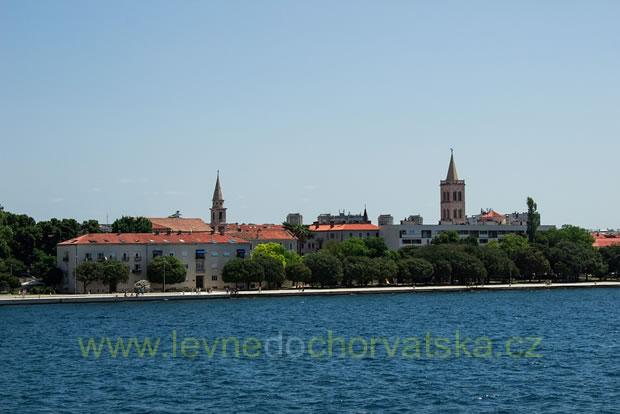 Promenáda v Zadaru - Chorvatsko