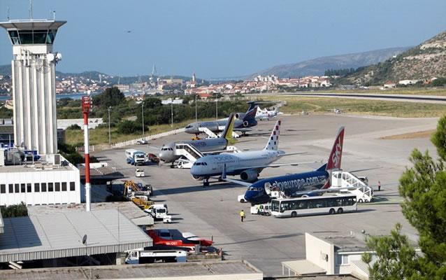 Letiště ve Splitu - Chorvatsko