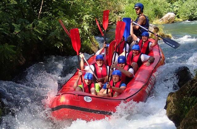 Rafting na řece Cetina - Omiš