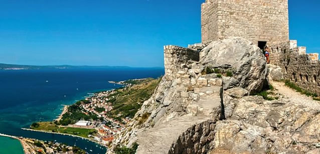 Pevnost a strážní věž - Omiš