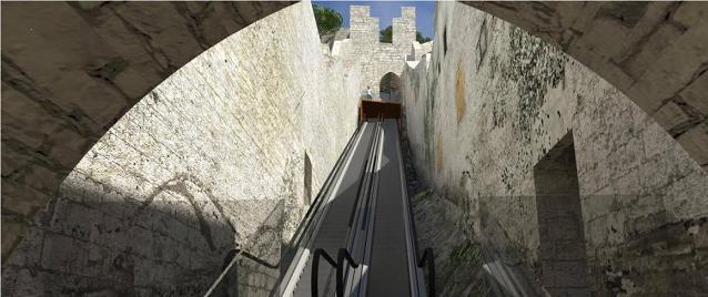 Ambiciózní plán eskalátoru v Šibeniku